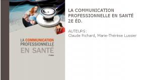 communiquer auprès de personne soigne